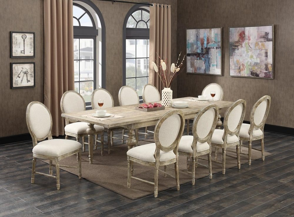 interlude dining set horizon home furniture. Black Bedroom Furniture Sets. Home Design Ideas