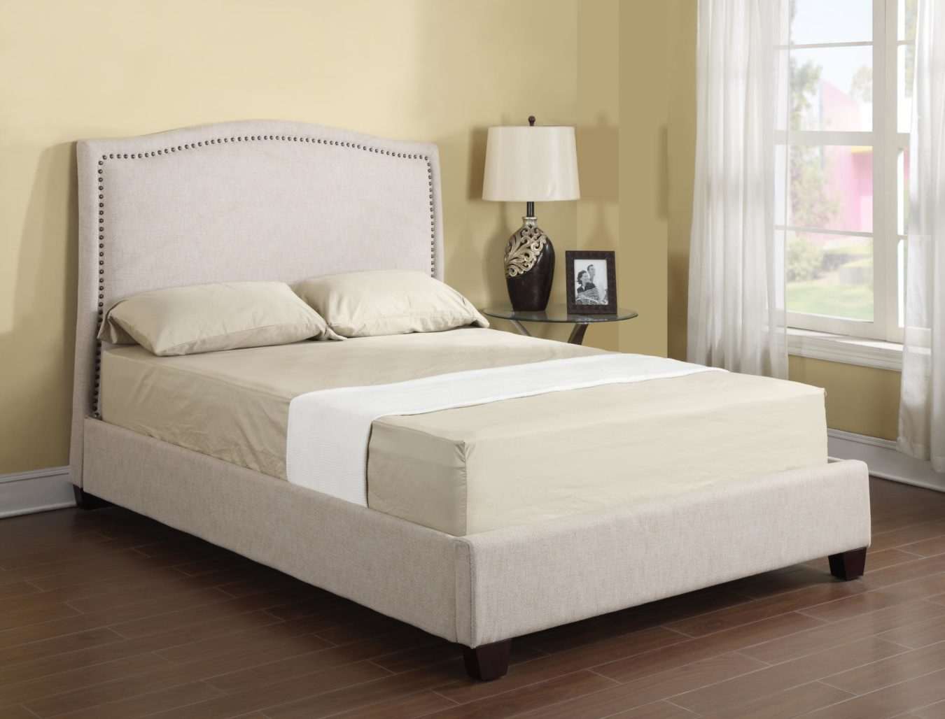 Lilian Platform Bed Horizon Home Furniture