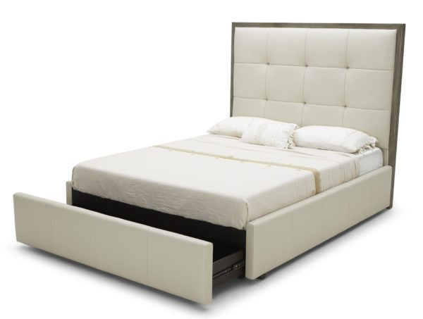 Westside Storage Bed Leather or Upholstered