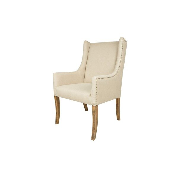 Upholstered Nail Head Arm Chair