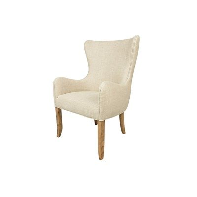Scarlett Button Tufted Wing Back Club Chair