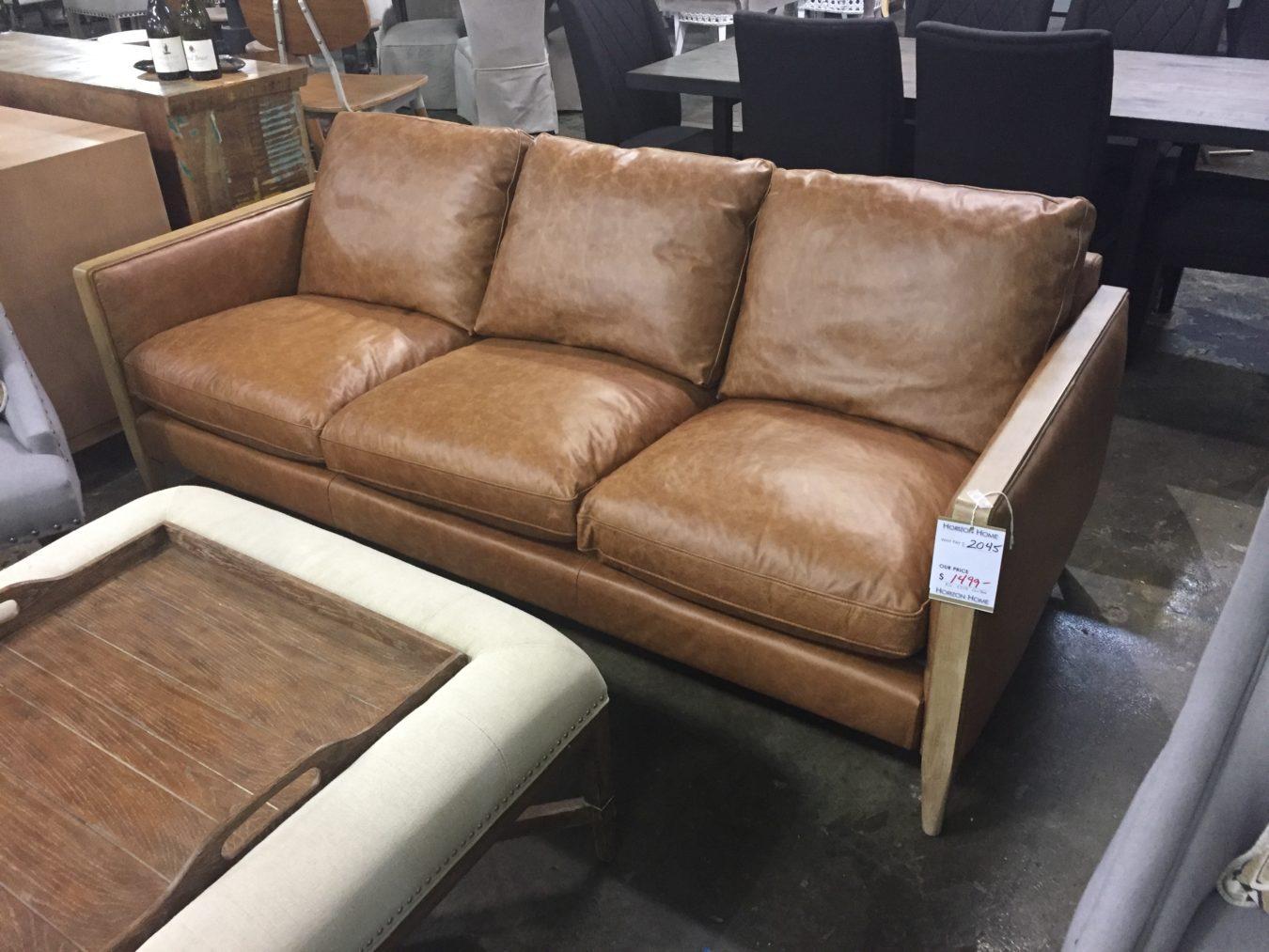 Laredo Leather Sofa