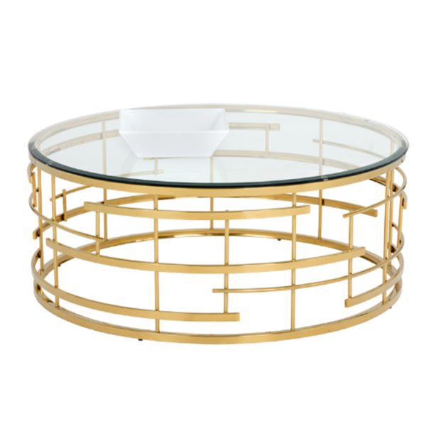 Art Deco Dining Glass CoffeeTable