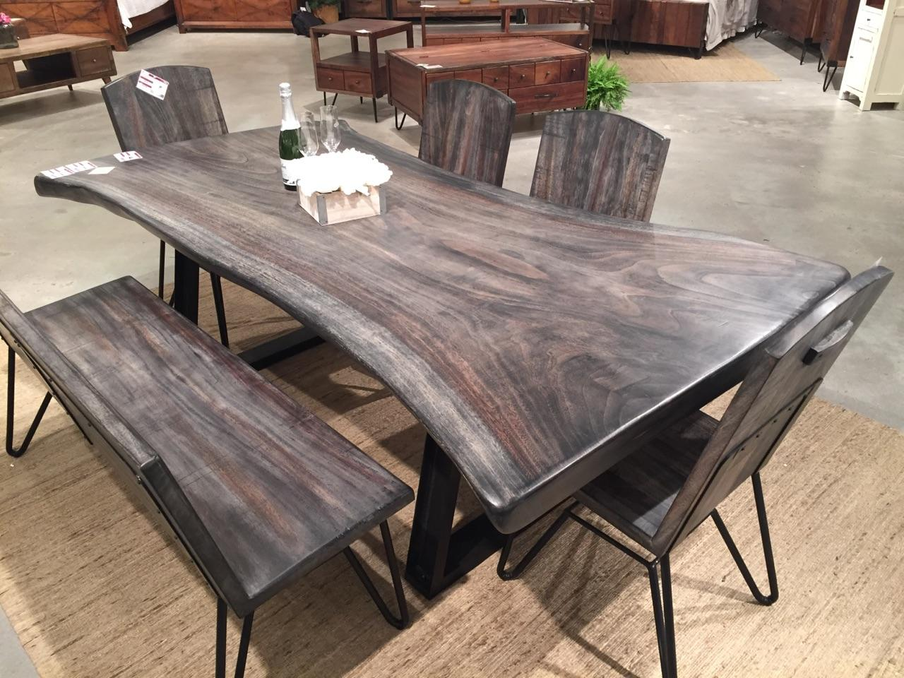Bon Live Edge Walnut Table Sale