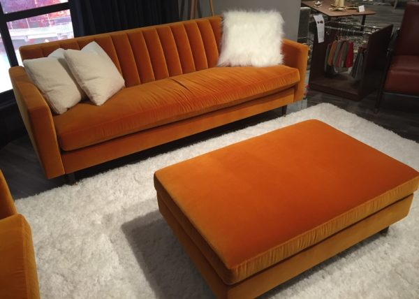 Monza Couch And Ottoman