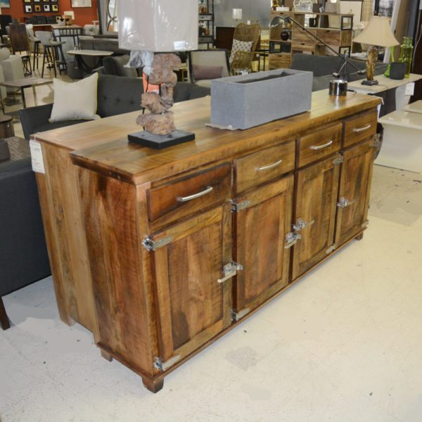 Rustic 4 Door Sideboard1000