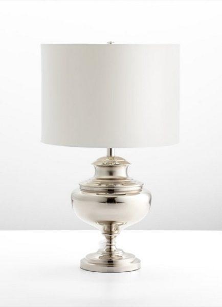 Encore Silver Lamp