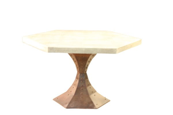 54 in octagon table