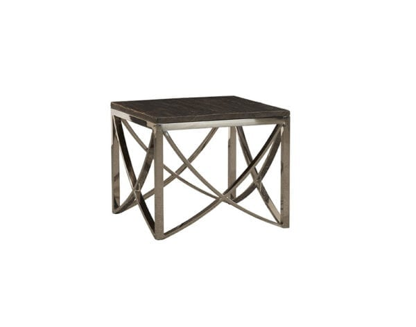 Trapeze End Table
