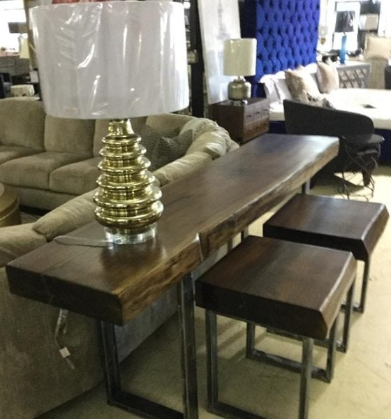 Laramie Console and End Tables