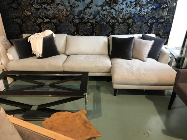 Andrew Cream Sectional Sofa