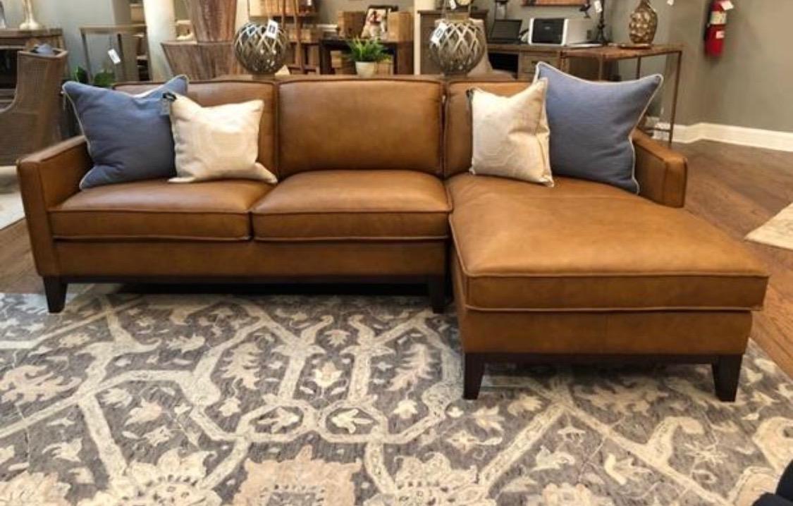 - Sunset Leather Sectional Sofa - Horizon Home Furniture