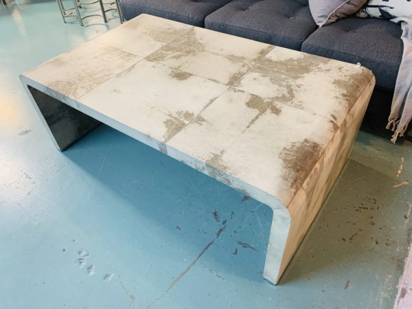 Industrial Retro End Table