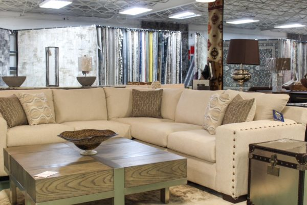 Nailhead Sectional