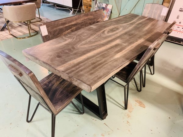 Sicily Walnut Dining Table