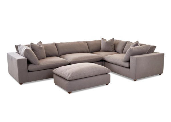Lenny, KD38300, 38300, sectional, fresh pewter, fres pewt